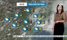 Bản tin thời tiết 12h30 - 13/5/2021
