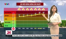 Bản tin thời tiết 18h45 - 14/6/2021