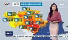 Bản tin thời tiết 19h45 - 14/6/2021