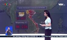 Bản tin thời tiết 18h - 19/6/2021