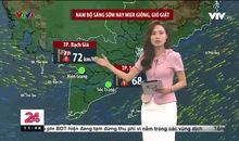 Bản tin thời tiết 11h30 - 25/7/2021
