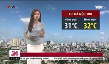 Bản tin thời tiết 11h30 - 27/7/2021