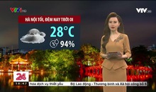 Bản tin thời tiết 18h45 - 30/7/2021