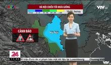 Bản tin thời tiết 11h30 - 31/7/2021