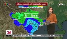 Bản tin thời tiết 18h45 - 31/7/2021