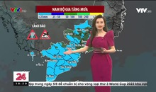 Bản tin thời tiết 18h45 - 04/8/2021