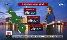 Bản tin thời tiết 18h45 - 05/8/2021