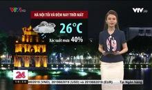 Bản tin thời tiết 18h45 - 18/9/2021
