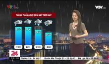 Bản tin thời tiết 18h45 - 22/9/2021