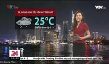 Bản tin thời tiết 18h45 - 24/9/2021