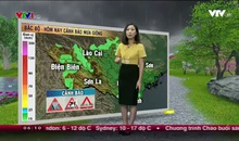 Bản tin thời tiết 6h10 - 27/4/2017