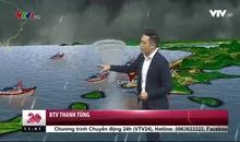 Bản tin thời tiết 11h30 - 24/10/2017