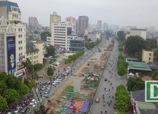 Toàn cảnh đại công trường vành đai 2 gần 10.000 tỷ ở Hà Nội