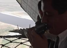 Video máy bay chiến đấu tàng hình Nga tiếp nhiên liệu trên không