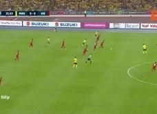 Malaysia 0-1 Việt Nam: Huy Hùng mở tỉ số