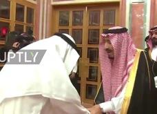 Quốc vương và Thái tử Ả rập Xê út gặp gia đình nhà báo Khashoggi