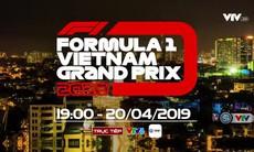 Khởi động Formula 1 Việt Nam Grand Prix 2020