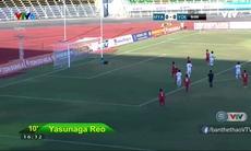 VIDEO Tổng hợp trận U21 Myanmar 0-5 U21 Yokohama