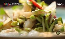 Góc bếp quê nhà: Gỏi gân bò cóc xanh