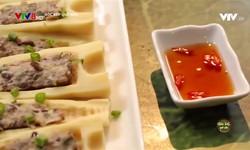Góc bếp quê nhà: Măng nhồi thịt