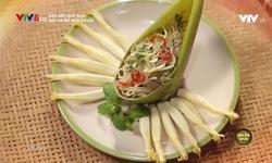 Góc bếp quê nhà: Gỏi da bò hoa chuối