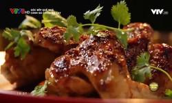 Góc bếp quê nhà: Cánh gà chiên bơ cay