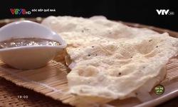 Góc bếp quê nhà: Bánh tráng đập