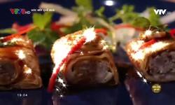 Góc bếp quê nhà: Phù trúc cuộn măng nấm