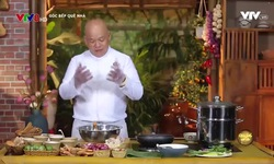 Góc bếp quê nhà: Bánh bột lọc gói lá chuối