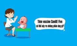 Tiêm vaccine ComBE Five có thể xảy ra phản ứng gì?