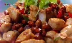 Bếp nhà: Gà xào đậu phộng cay
