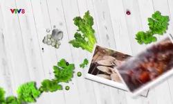 Bếp nhà: Dưa muối trộn thịt