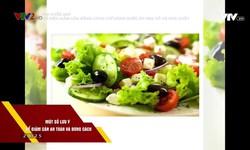 Vui khỏe 24/7: Có nên giảm cân bằng cách chỉ dùng nước ép rau củ và hoa quả?