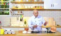 Bếp nhà: Vịt quay nấu vải