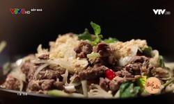 Bếp nhà: Bò trộn củ kiệu