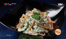 Bếp nhà: Salad khổ qua