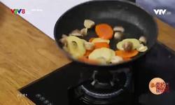 Bếp nhà: Bột ngàn lớp cuộn thịt bò