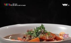 Bếp nhà: Bò hầm cà rốt xí muội