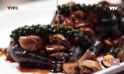 Bếp nhà: Gà ác hấp thịt xông khói tiêu xanh