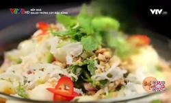 Bếp nhà: Salad trứng cút đậu rồng
