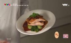 Bếp nhà: Cá hồi áp chảo sốt cam tắc