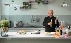 Bếp nhà: Bánh ướt áp chảo sốt nấm