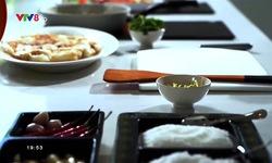 Bếp nhà: Mì hải sản sốt kem dừa