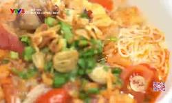 Bếp nhà: Bún cá lóc nấu sa tế