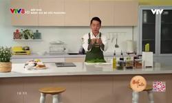 Bếp nhà: Bánh cải bó xôi pudding