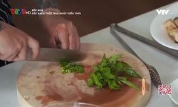 Bếp nhà: Gỏi bạch tuộc rau nhút kiểu Thái