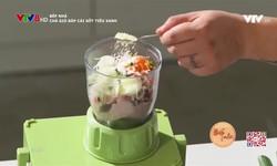 Bếp nhà: Chả giò bắp cải sốt tiêu xanh