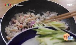 Bếp nhà: Mỳ xào thịt cua