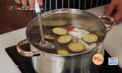 Bếp nhà: Cá hồi nấu canh chua