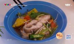 Bếp nhà:Cá điêu hồng nấu ngót